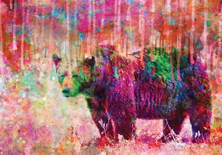 Bear by A.V. Art art print