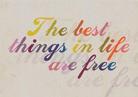 Best Things by A.V. Art art print