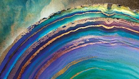 Rainbow Agate Island by A.V. Art art print
