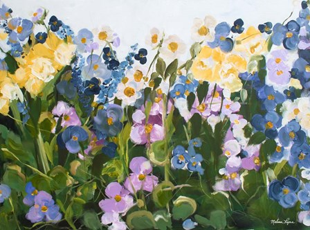Garden by Melissa Lyons art print