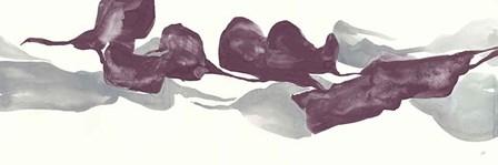 Plum and Gray IV by Chris Paschke art print