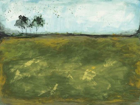 Over the Meadow Green by Courtney Prahl art print