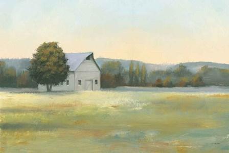 Morning Meadows II by James Wiens art print