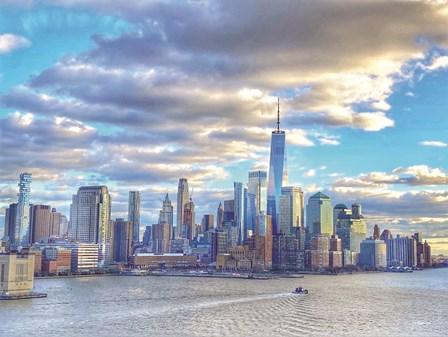New York City III by Kathy Jennings art print