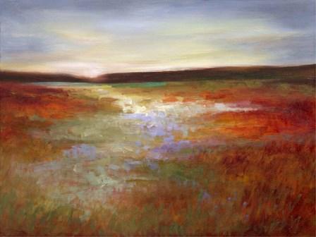 Light Across the Meadow I by Sheila Finch art print