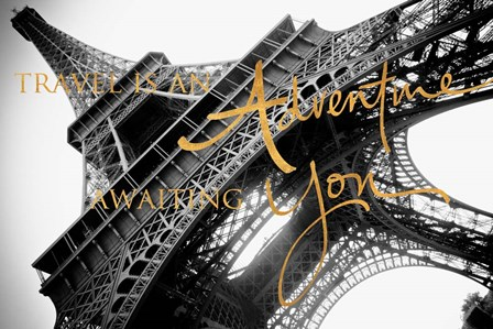 Travel is an Adventure by Emily Navas art print