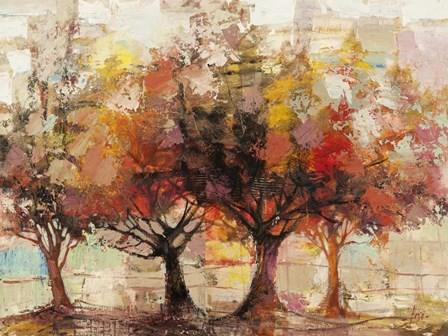 Foresta Incantata by Luigi Florio art print