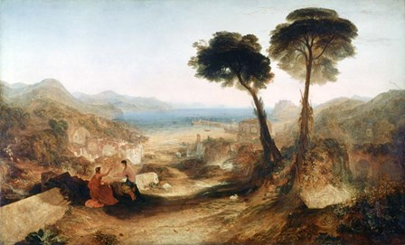 The Bay of Baiae, with Apollo and the Sibyl, c1823 by J.M.W. Turner art print