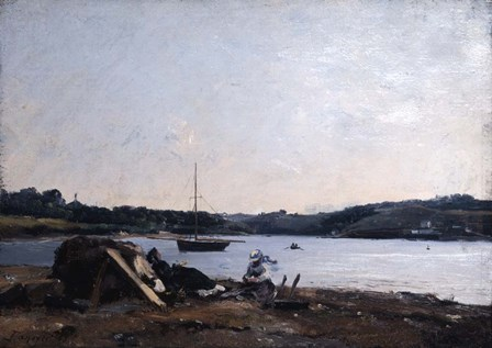 Mouth of the River, 1868 by Emmanuel Lansyer art print