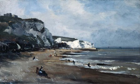 Dover, 1875 by Emmanuel Lansyer art print
