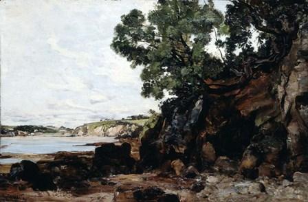 Douarnenez, 1884 by Emmanuel Lansyer art print