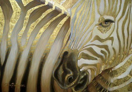 Zebra Codex by Cherie Roe Dirksen art print