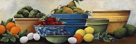 Fruit Bowls by Debbi Wetzel art print