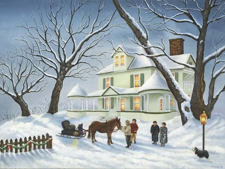 Holiday Greetings by Kevin Dodds art print