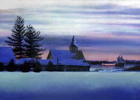 Twilight's Last Gleaming by John Morrow art print