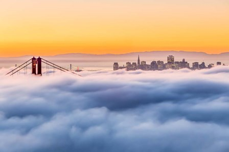 Morning Fog by Dave Gordon art print
