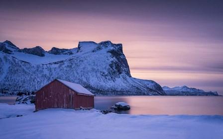 Pastel Fjord by Michael Blanchette Photography art print