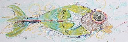 Fish Face Right by Joe Cilluffo art print