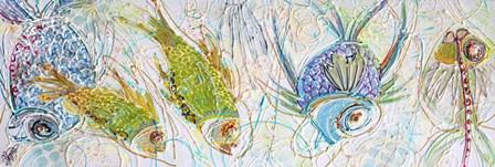 Fish Five by Joe Cilluffo art print