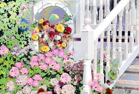 Garden II by Joe Cilluffo art print