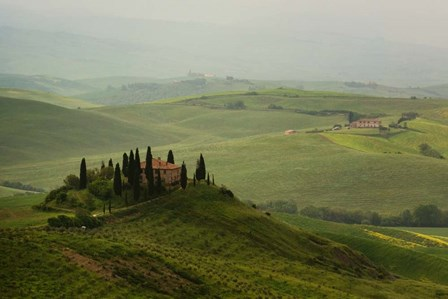 Tuscan Villa by Shelley Lake art print