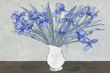 Van Gogh Irises I by Melissa Wang art print