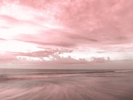 Pink Beach Emotions by Lori Deiter art print