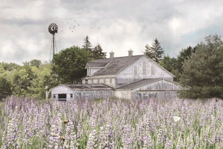 Rustic Country Life by Lori Deiter art print