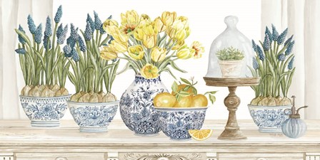 Spring Blooms by Cindy Jacobs art print