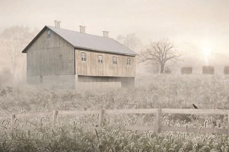 Dewy Country Morning by Lori Deiter art print