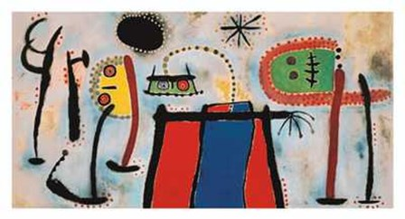 Painting by Joan Miro