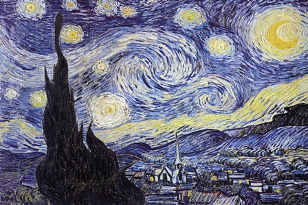 Buy Van Gogh Starry Night Print