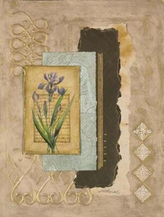 Metallic Iris II by Merri Pattinian art print