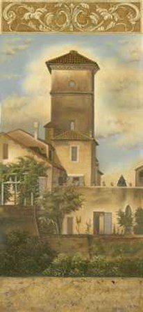 Tuscan Panel I by Kessler-Romano art print