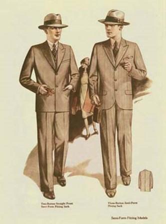 Mens Fashion VI art print