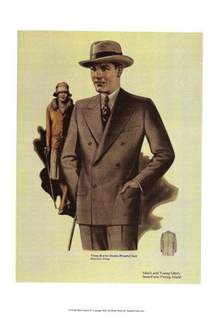 Mens Fashion III art print