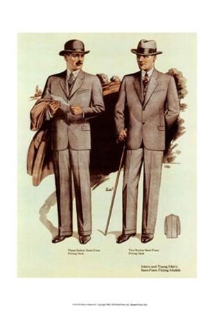 Mens Fashion V art print