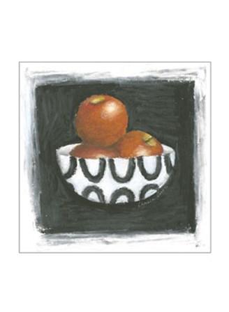 Apples in Bowl by Chariklia Zarris art print