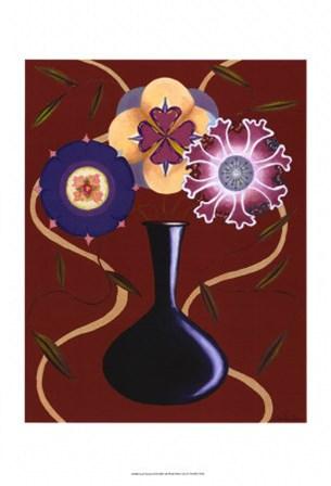 Loft Flowers III by Vision Studio art print