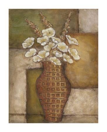 Cubed Floral Study I by Chariklia Zarris art print