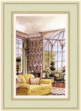The View From the Conservatory by Mark Hampton art print
