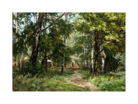 In the Park by Nikolai Kozlov art print