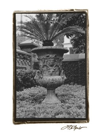 Garden Urn by Laura Denardo art print