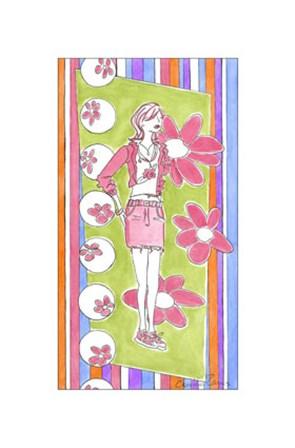 Glam Girls II by Chariklia Zarris art print