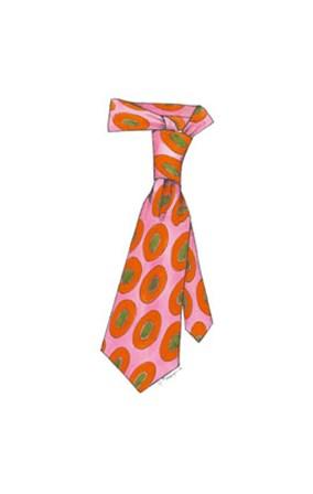 Uptown Tie I by Jennifer Goldberger art print