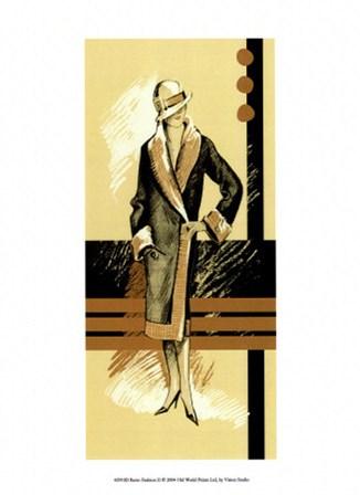 Retro Fashion II by Vision Studio art print