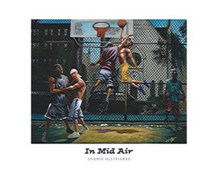 In Mid Air (28 x 22) by Lonnie Ollivierre art print