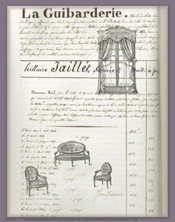La Guibarderie by Marie Frederique art print