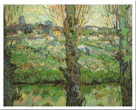 Blick Auf Arles, c.1889 by Vincent Van Gogh art print