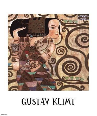 Expectation, c.1909 (detail) by Gustav Klimt art print